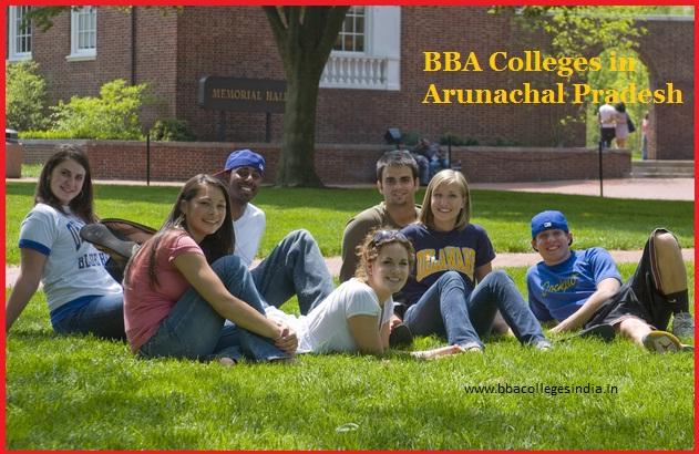 BBA colleges Arunachal Pradesh