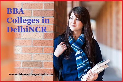 BBA colleges Delhi NCR