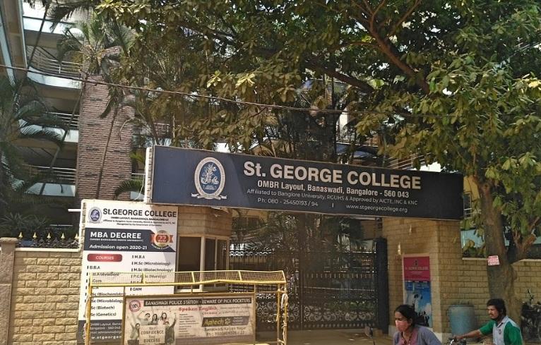 St George Bangalore BBA Admission 2021