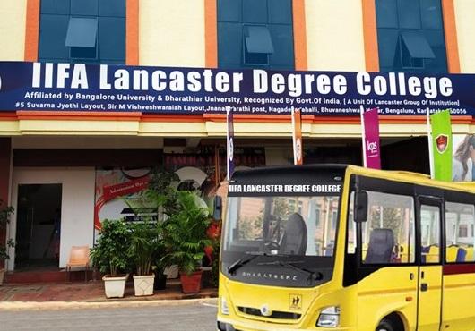 IIFA Lancaster Bangalore BBA Admission 2021