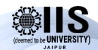 IIS University Jaipur logo