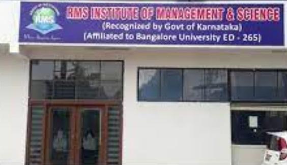 RMS Institute Bangalore BBA Admission 2021