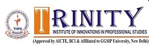 Trinity Institute of Innovations in Professional Studies logo
