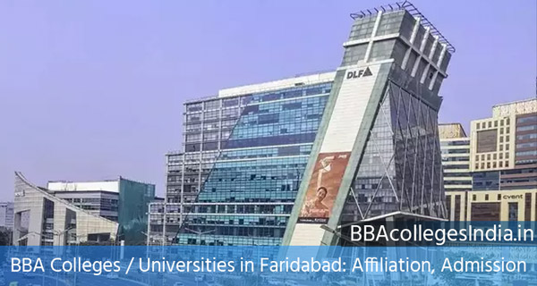 BBA Colleges / Universities in Faridabad: Affiliation, Admission