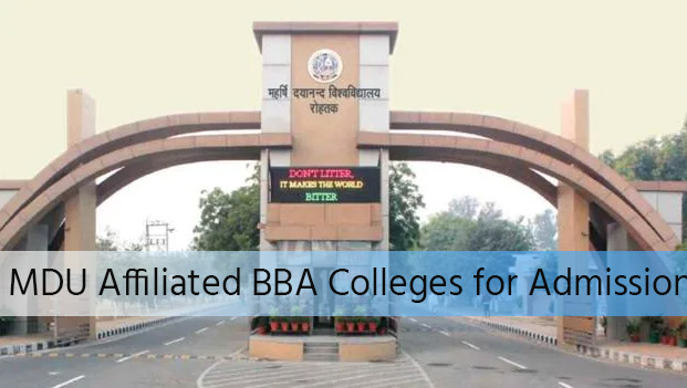 MDU Affiliated BBA Colleges for Admission